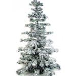 Künstlicher Weihnachtsbaum geschmückt für die Feirtage