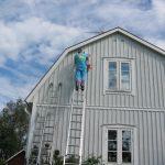 Fassadenfarben schützen und sind dekorativ